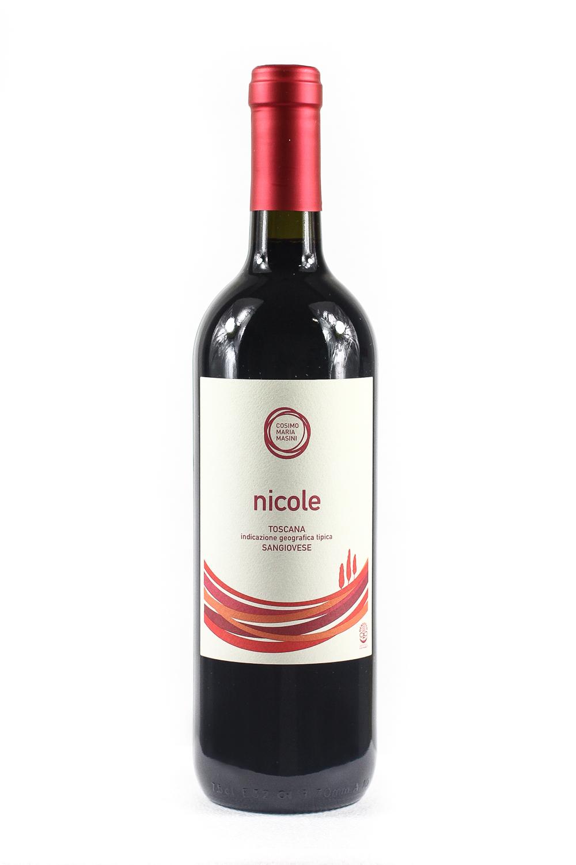 Nicole IGT Sangiovese Red Tuscany Cosimo Maria Masini