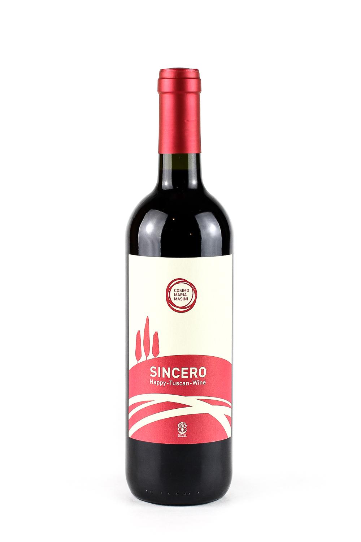 Sincero Igt Red Tuscany wine Cosimo Maria Masini
